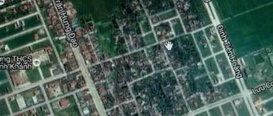 Bán đất mặt Đường Tôn Đức Thắng, Quảng Trường 2, Ninh Bình, 126m2